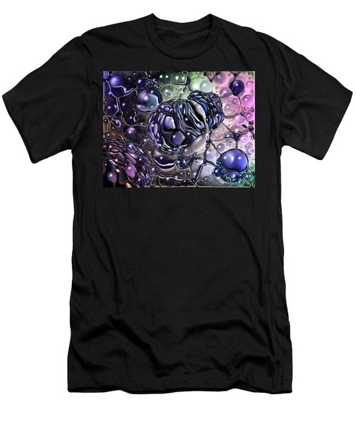 Cancer Killing Microbe Men's T-Shirt (Athletic Fit)