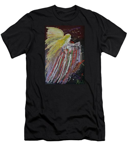 Abstract Angel Men's T-Shirt (Athletic Fit)