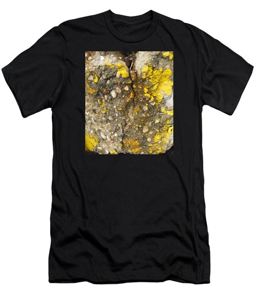 Abstract Art Seen In Parking Lot Men's T-Shirt (Athletic Fit)