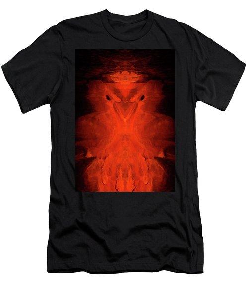Abstract Bird 01 Men's T-Shirt (Slim Fit) by Scott McAllister