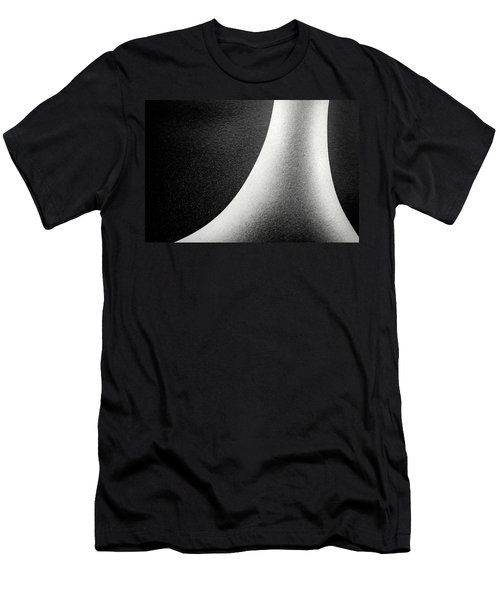 Abstract-black And White Men's T-Shirt (Athletic Fit)