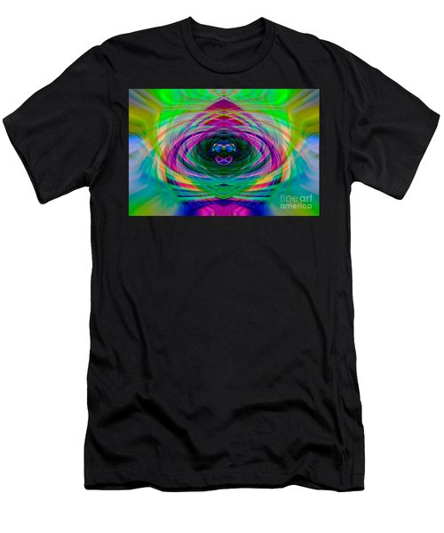 Abstract Catherine Wheel Men's T-Shirt (Athletic Fit)