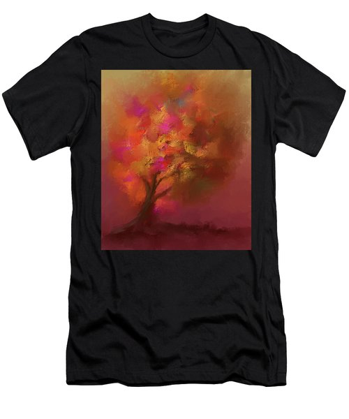 Abstract Colourful Tree Men's T-Shirt (Athletic Fit)
