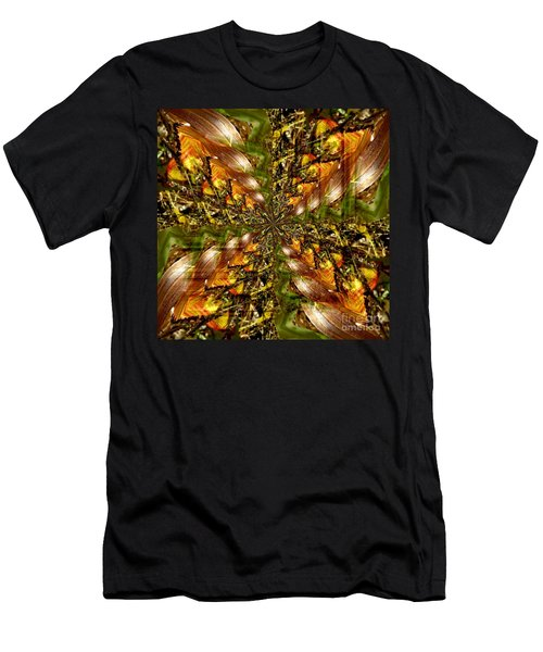 Abstract Cornfield 1 Men's T-Shirt (Athletic Fit)