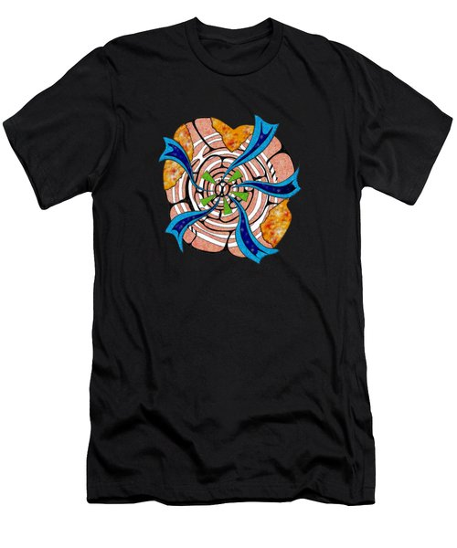 Abstract Digital Art - Ciretta V3 Men's T-Shirt (Athletic Fit)