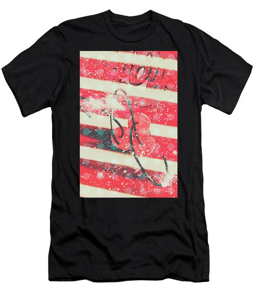 Abstract Dynamite Charge Men's T-Shirt (Athletic Fit)