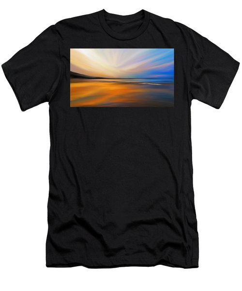 Abstract Energy Men's T-Shirt (Athletic Fit)