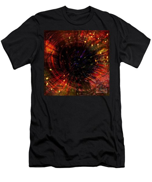 Abstract Fire  Flyer Nest Men's T-Shirt (Athletic Fit)