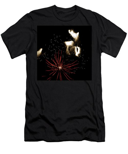 Abstract Fireworks IIi Men's T-Shirt (Athletic Fit)