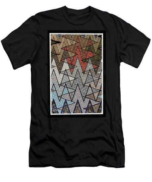 Abstract Floor  Men's T-Shirt (Athletic Fit)