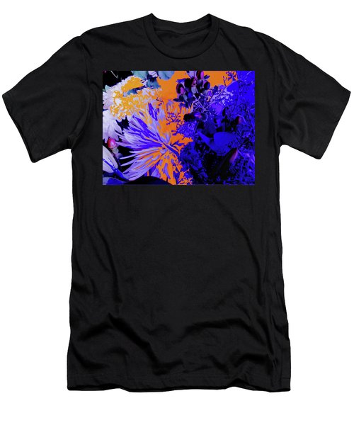 Abstract Flowers Of Light Series #1 Men's T-Shirt (Athletic Fit)