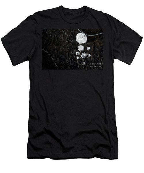 Abstract Ice Patterns II Men's T-Shirt (Athletic Fit)