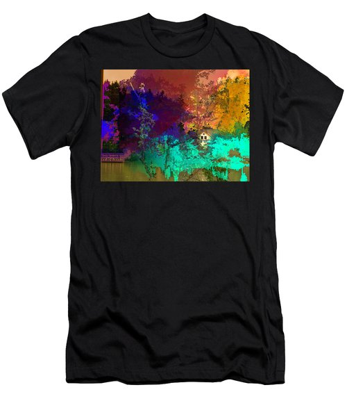 Abstract  Images Of Urban Landscape Series #4 Men's T-Shirt (Athletic Fit)