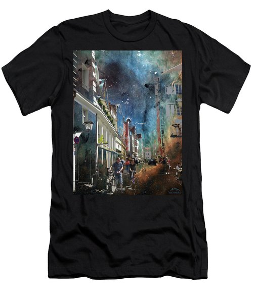 Abstract  Images Of Urban Landscape Series #6 Men's T-Shirt (Athletic Fit)