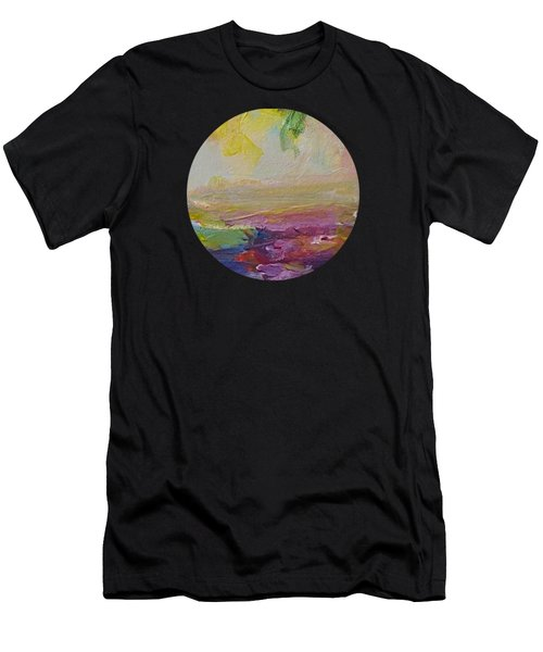 Abstract Impressions- Number 2 Men's T-Shirt (Athletic Fit)
