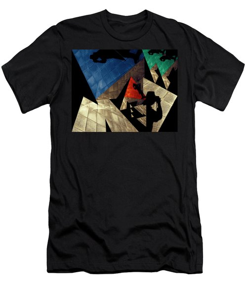 Men's T-Shirt (Slim Fit) featuring the photograph Abstract Iterations by Wayne Sherriff