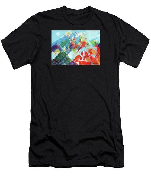 Abstract Landscape1 Men's T-Shirt (Athletic Fit)