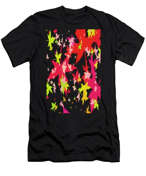 Abstract Leaf Men's T-Shirt (Athletic Fit)
