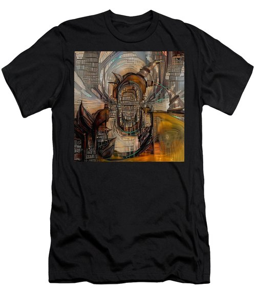 Abstract Liberty Men's T-Shirt (Athletic Fit)
