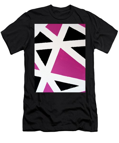 Abstract M1015bp Men's T-Shirt (Athletic Fit)