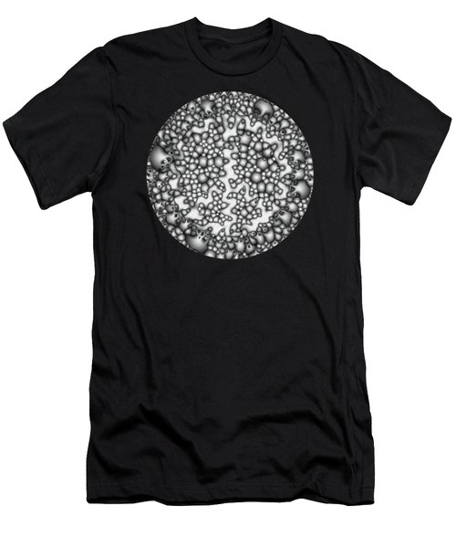Abstract Macro Shapes Men's T-Shirt (Athletic Fit)
