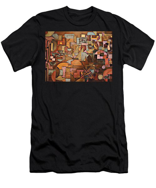 Abstract Mind Men's T-Shirt (Athletic Fit)