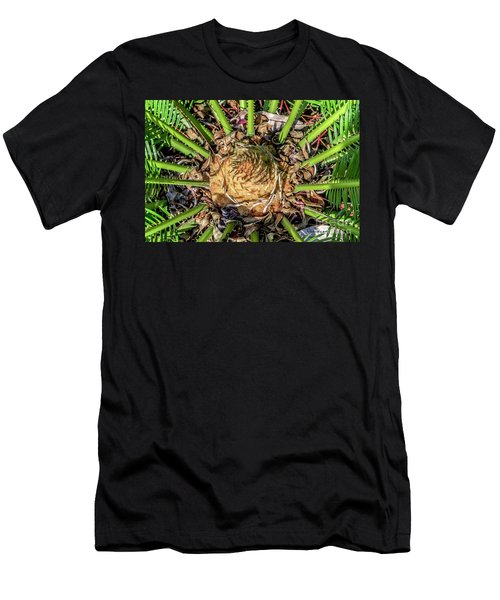 Abstract Nature Tropical Fern 2096 Men's T-Shirt (Athletic Fit)