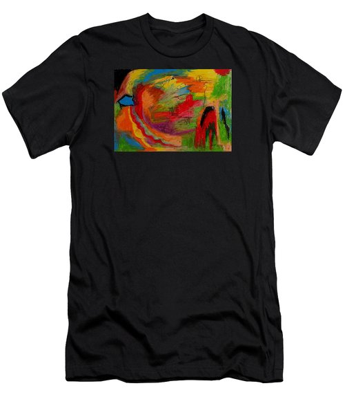 Abstract No. 3 Inner Landscape Men's T-Shirt (Slim Fit) by Maria  Disley