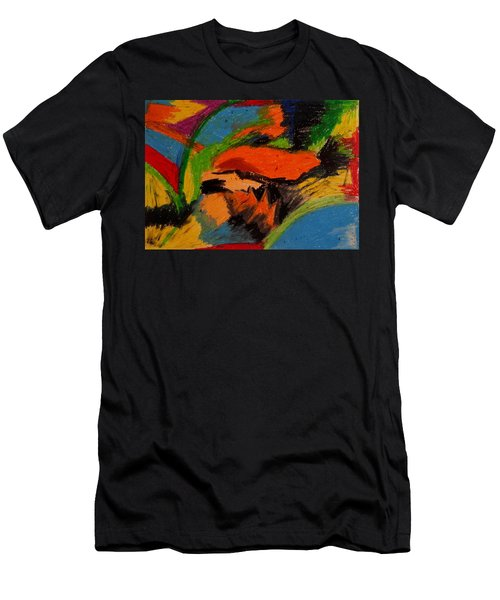 Abstract No. 4 Inner Landscape Men's T-Shirt (Athletic Fit)