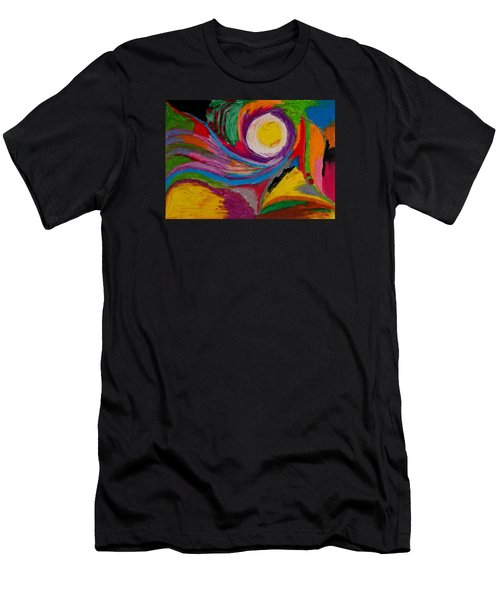 Abstract No.6 Innerlandscape Men's T-Shirt (Athletic Fit)