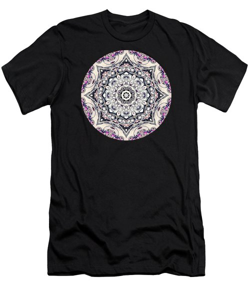 Abstract Octagonal Mandala Men's T-Shirt (Athletic Fit)