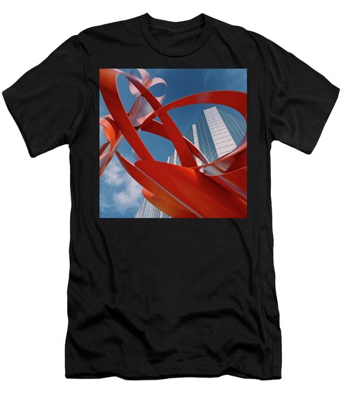 Abstract - Oklahoma City Men's T-Shirt (Athletic Fit)