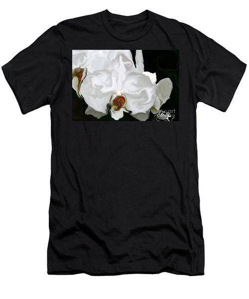 Abstract Orchid  Men's T-Shirt (Athletic Fit)