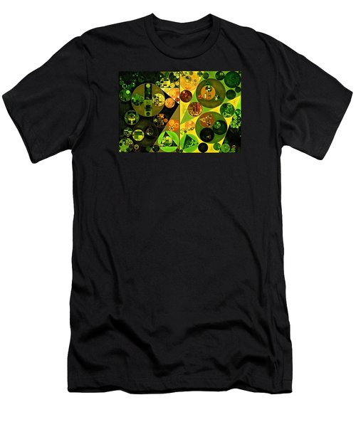 Abstract Painting - Barberry Men's T-Shirt (Athletic Fit)