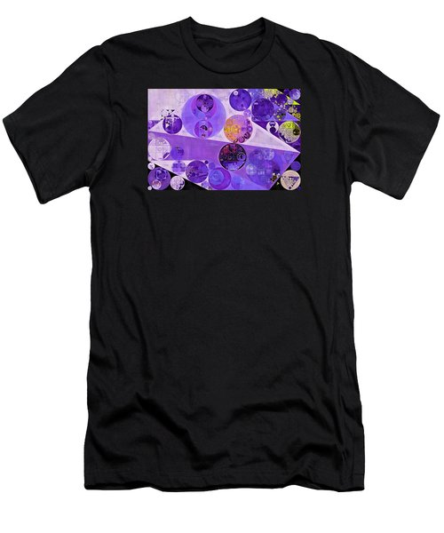 Abstract Painting - Blackcurrant Men's T-Shirt (Athletic Fit)