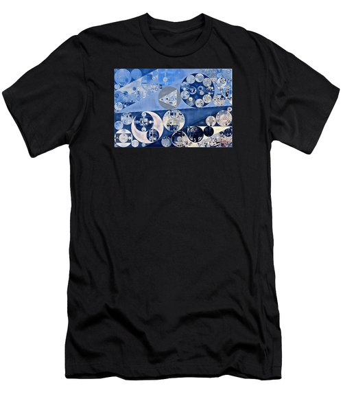 Abstract Painting - Blue Whale Men's T-Shirt (Athletic Fit)
