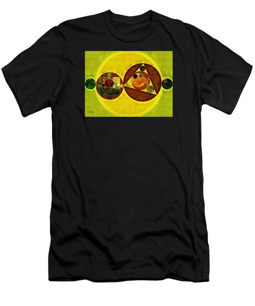 Abstract Painting - Citrine Men's T-Shirt (Athletic Fit)