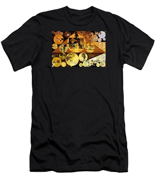 Men's T-Shirt (Slim Fit) featuring the digital art Abstract Painting - Mai Tai by Vitaliy Gladkiy