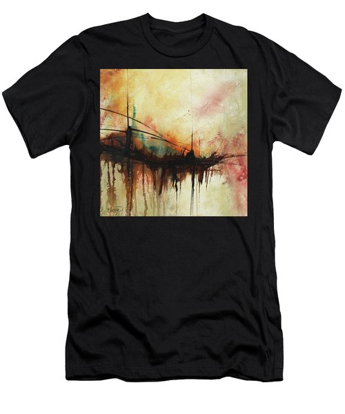 Abstract Painting Contemporary Art Men's T-Shirt (Athletic Fit)