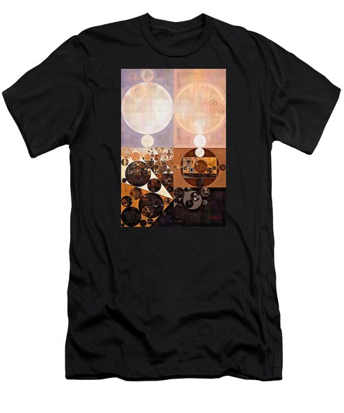Abstract Painting - Zinnwaldite Men's T-Shirt (Slim Fit) by Vitaliy Gladkiy