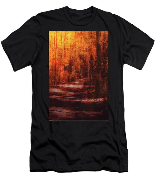 Abstract Path Men's T-Shirt (Athletic Fit)