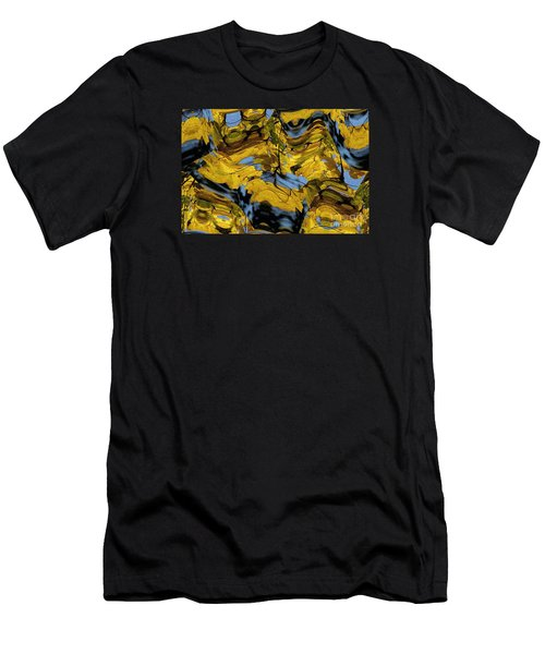 Abstract Pattern 4 Men's T-Shirt (Athletic Fit)