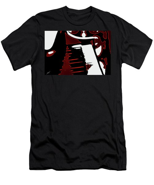 Abstract Piano Men's T-Shirt (Athletic Fit)