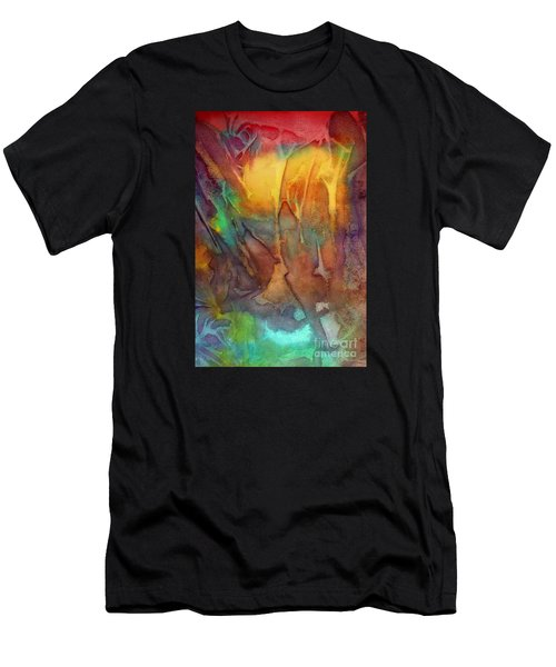 Abstract Reflection Men's T-Shirt (Athletic Fit)