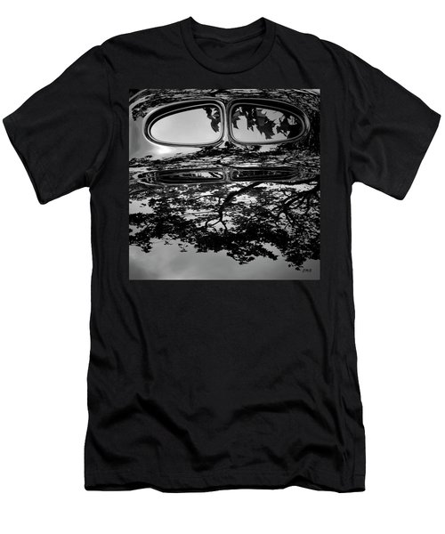 Abstract Reflection Bw Sq II - Vehicle Men's T-Shirt (Athletic Fit)