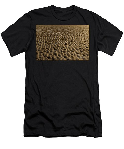 Abstract Sand Men's T-Shirt (Athletic Fit)