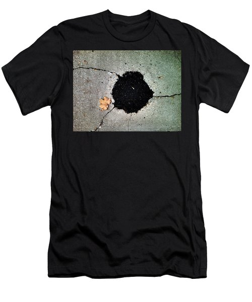 Abstract Sidewalk Men's T-Shirt (Athletic Fit)