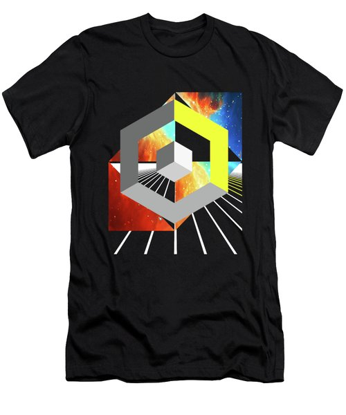 Abstract Space 4 Men's T-Shirt (Slim Fit) by Russell K