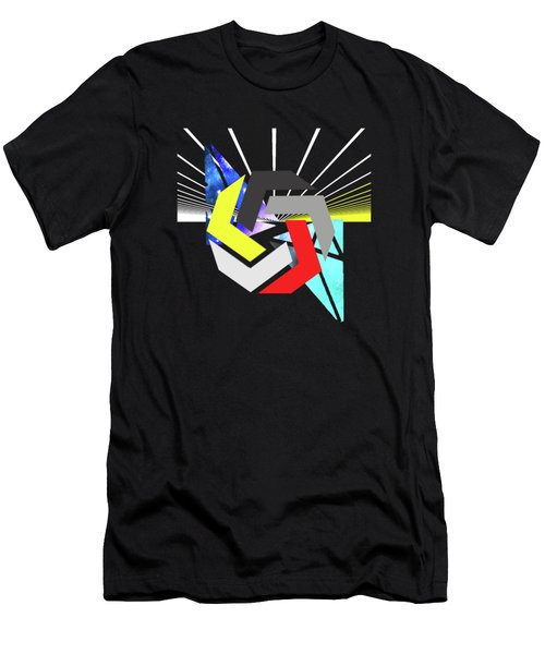 Abstract Space 6 Men's T-Shirt (Athletic Fit)