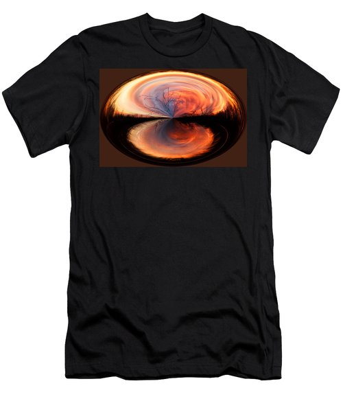 Abstract Sunrise Men's T-Shirt (Athletic Fit)